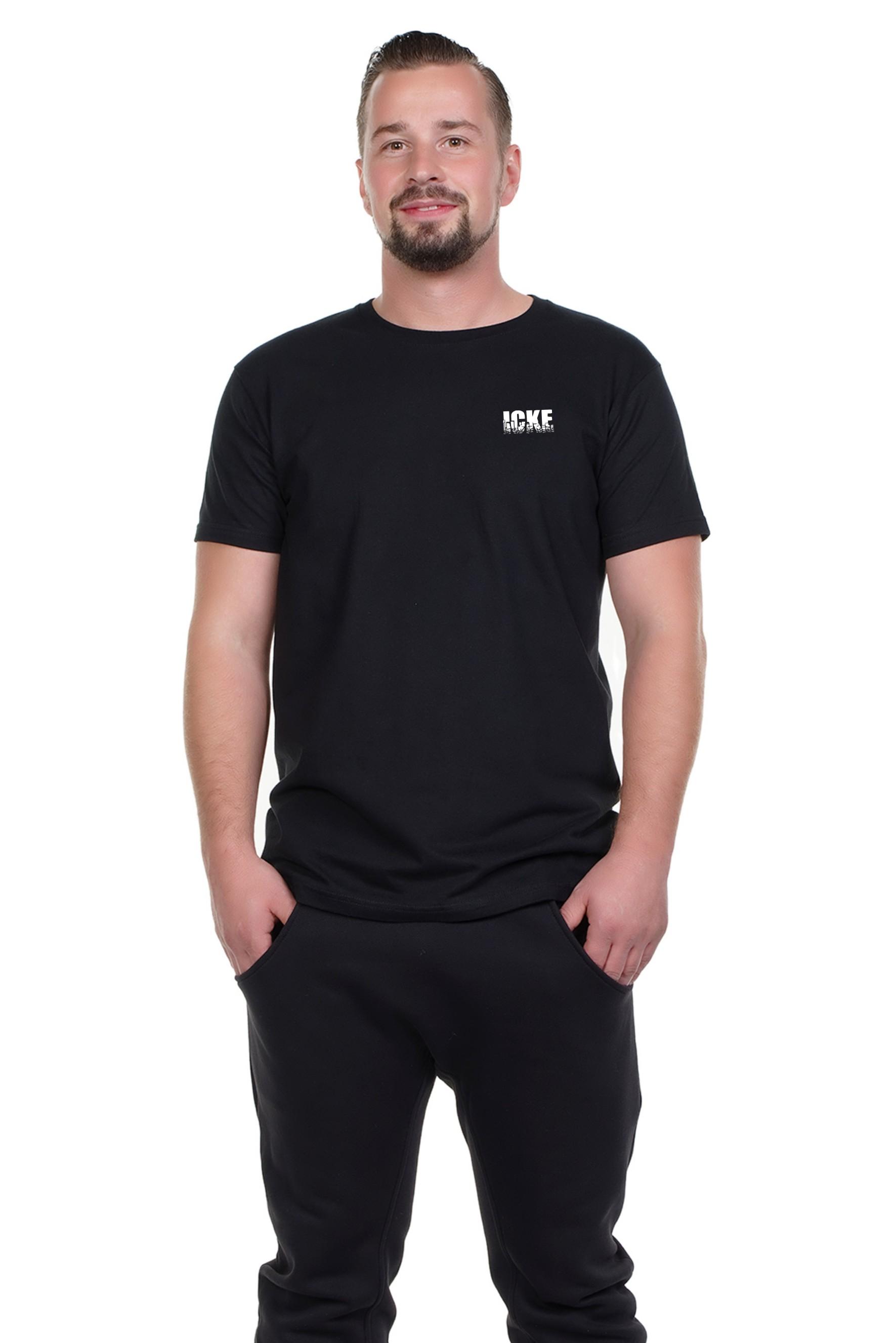 Spree Shirt Männer schwarz ICKE