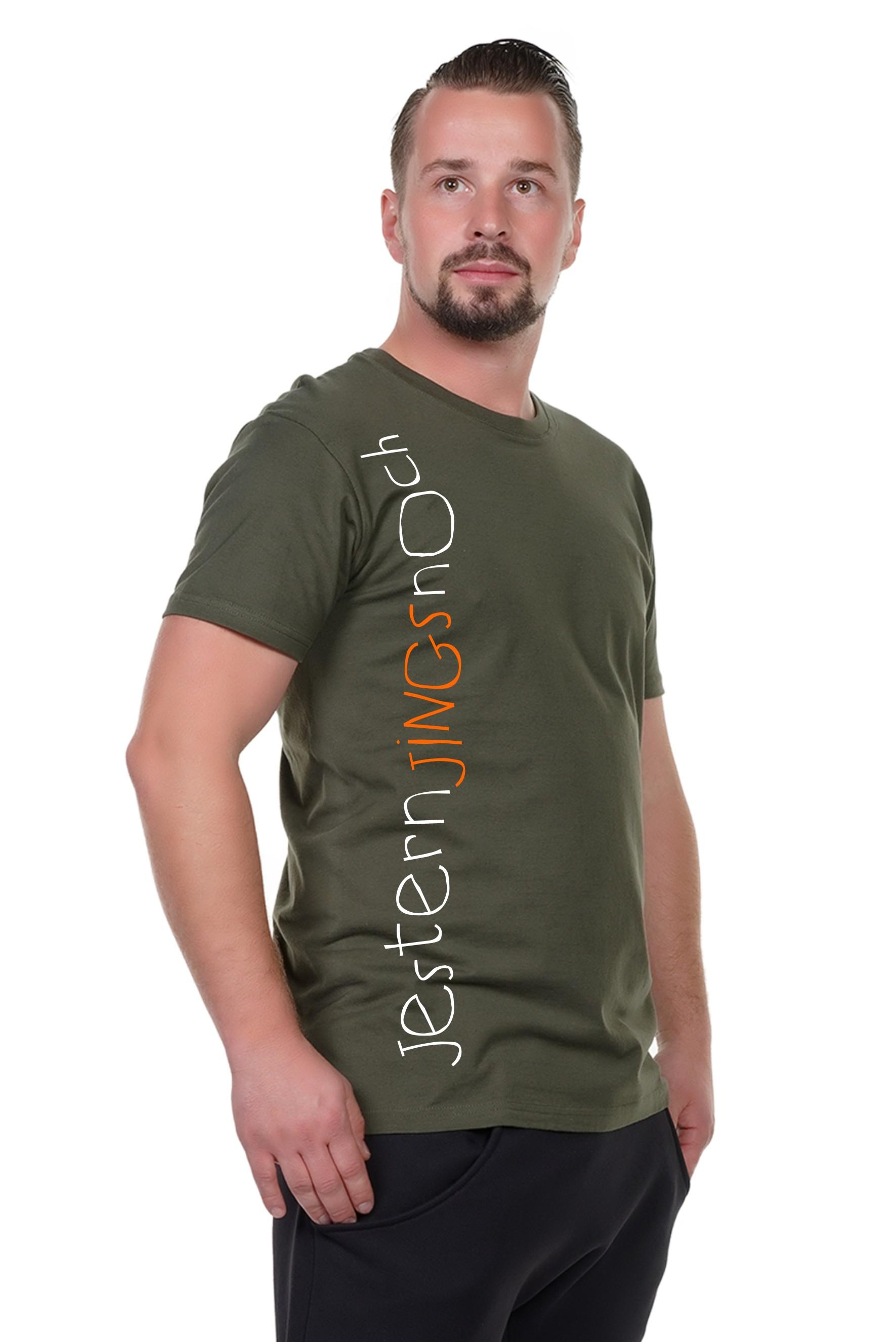 Spree Shirt Männer oliv jestern jings noch