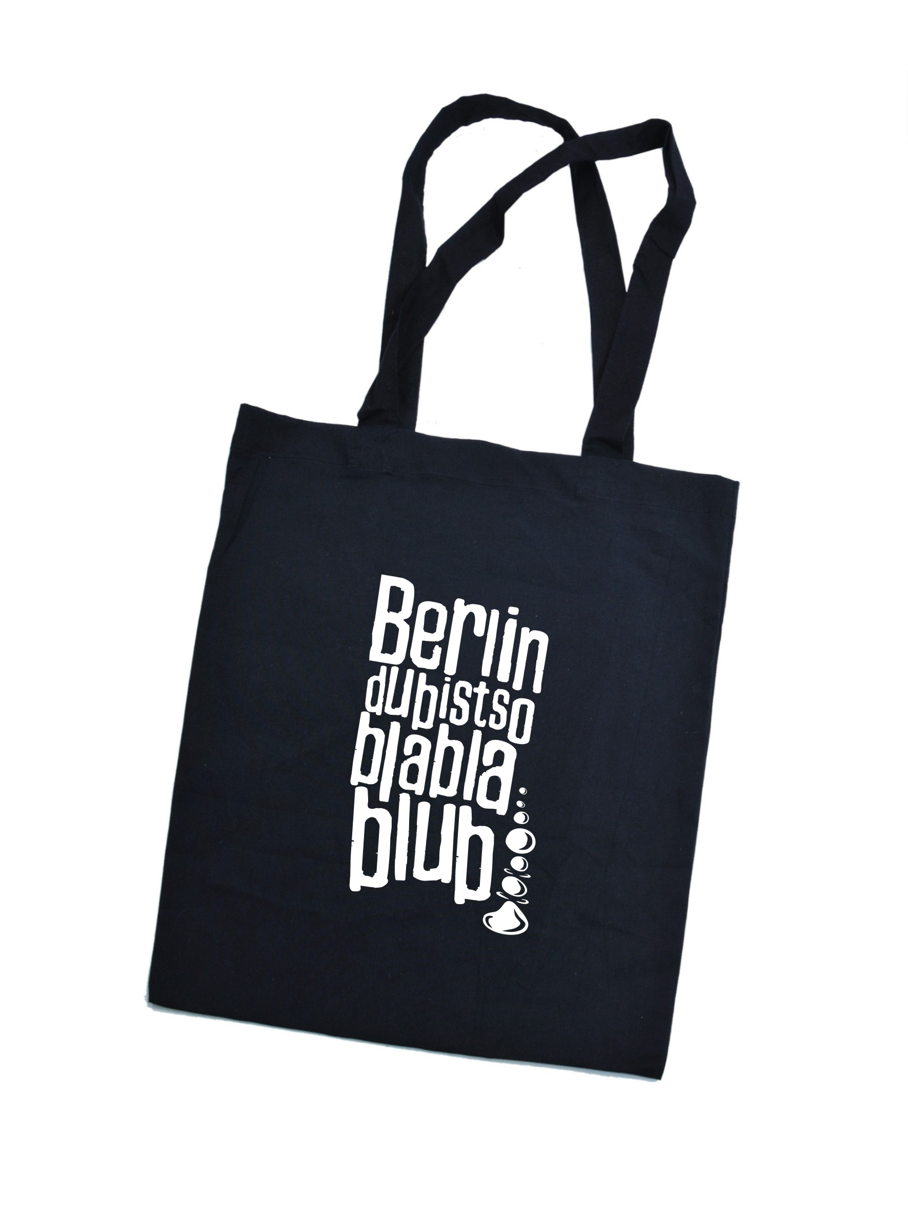 Jutebeutel Berlin bla bla
