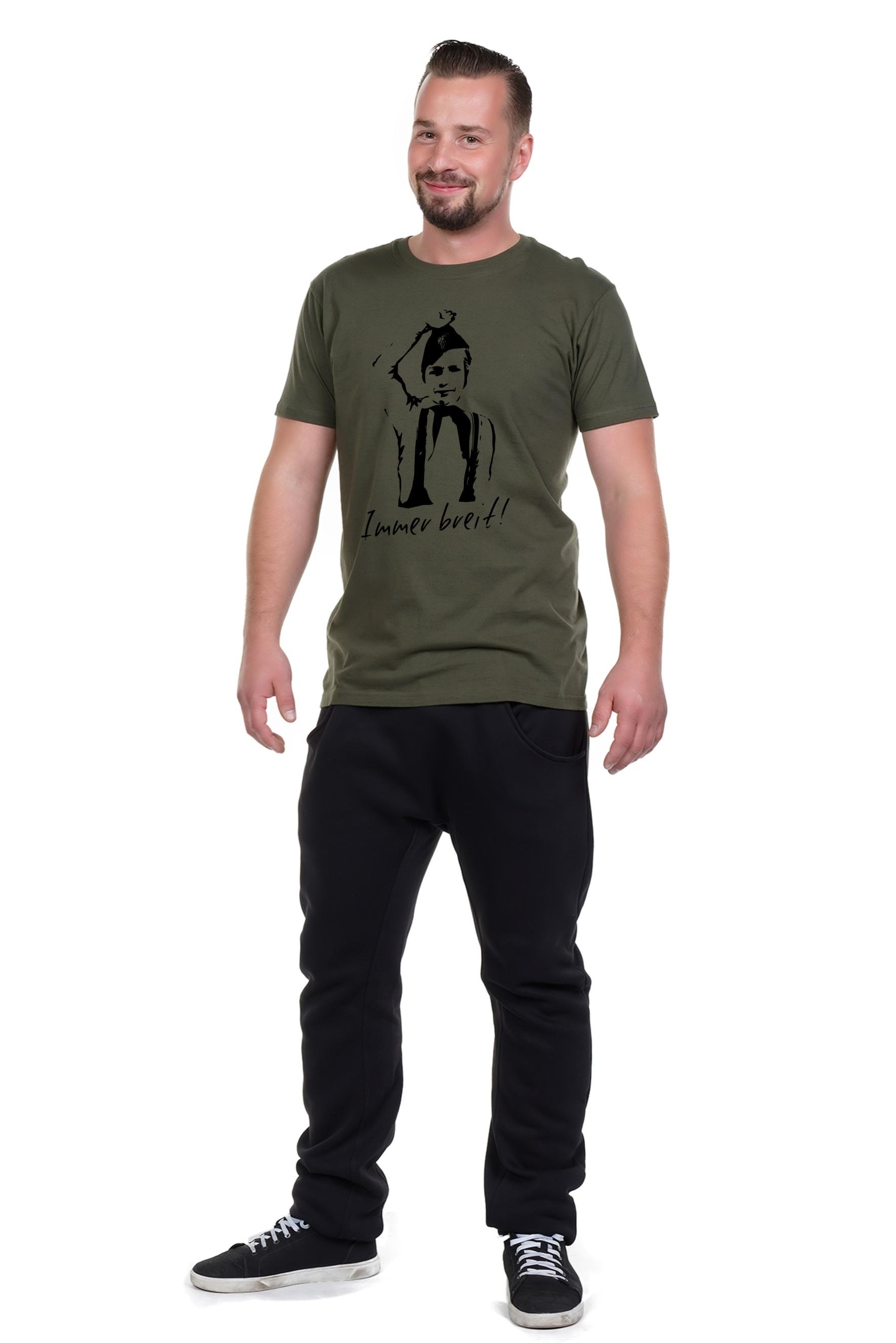 Spree Shirt Männer oliv Pionier