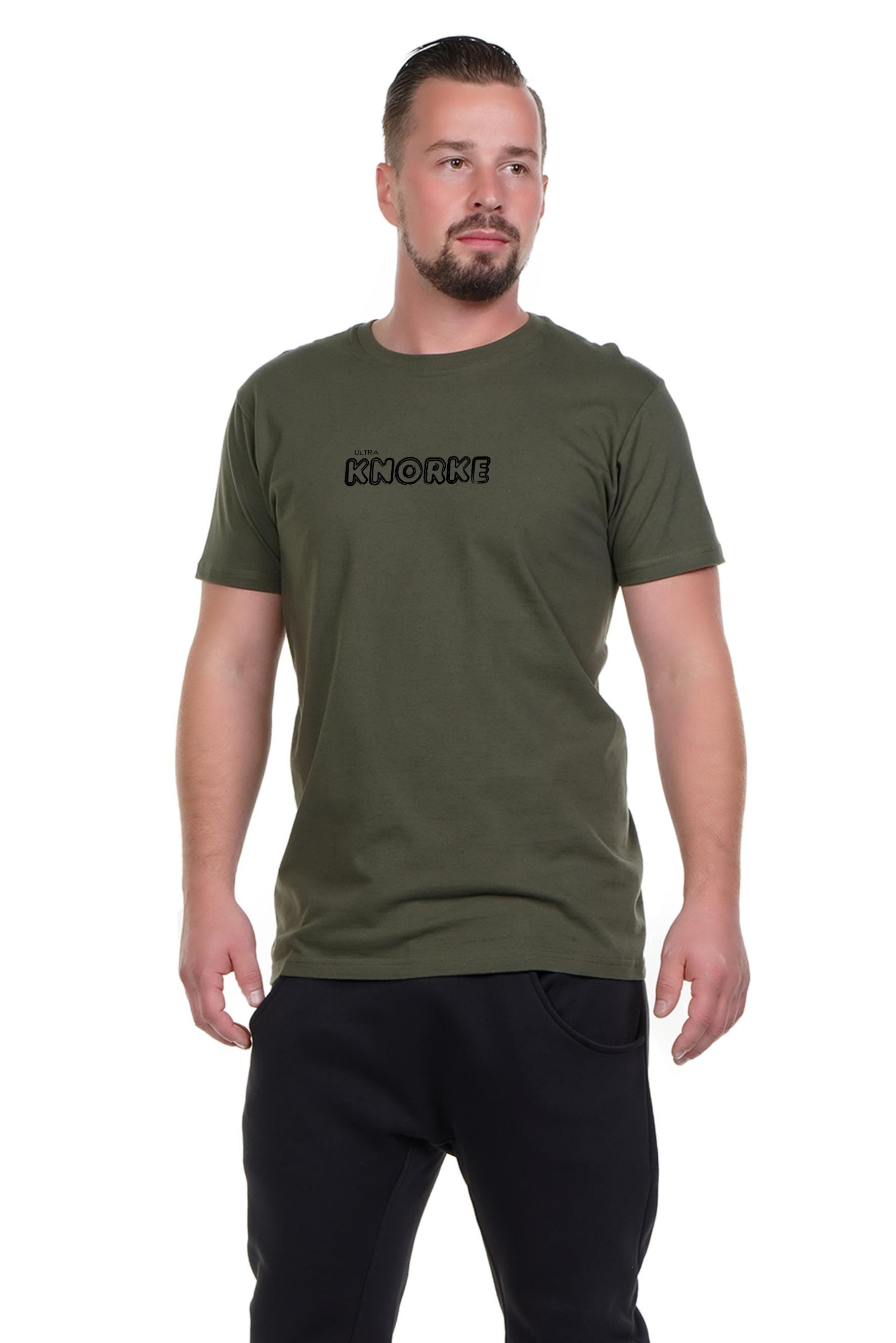 Spree Shirt Männer oliv Ultra Knorke