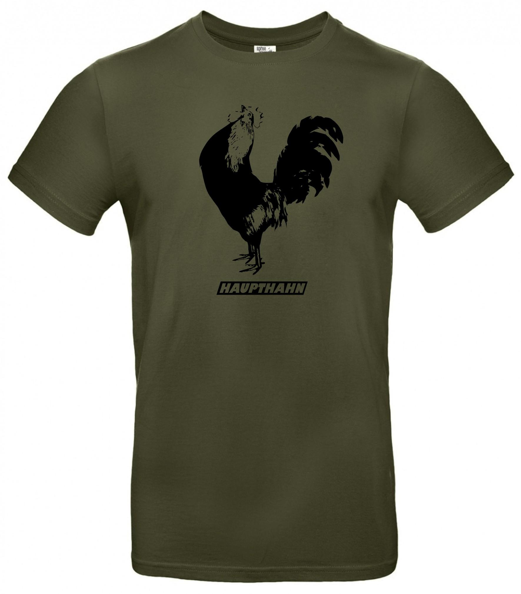 Spree Shirt Männer oliv Haupthahn