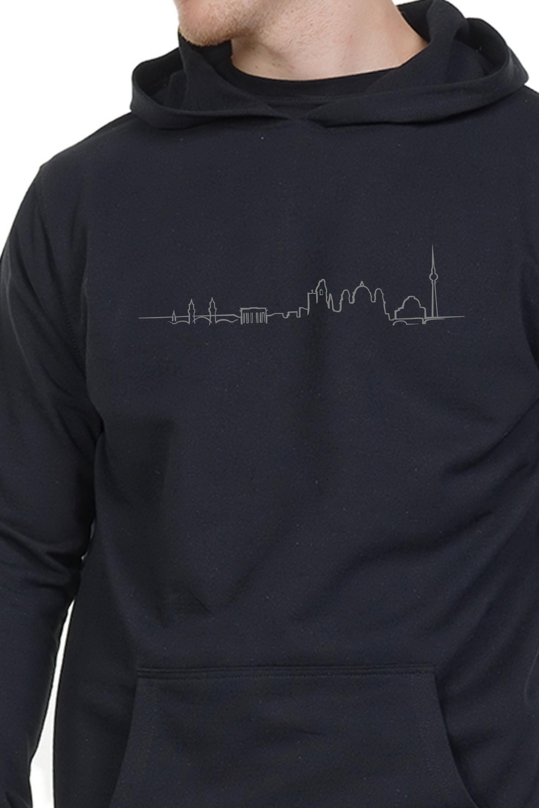 Spree Hoodie Herren Berlin Skyline